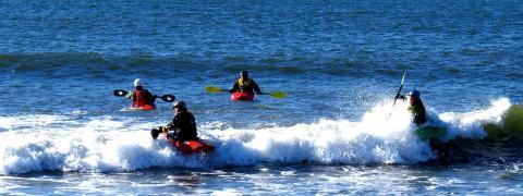 Kayak Surfing Nova Scotia