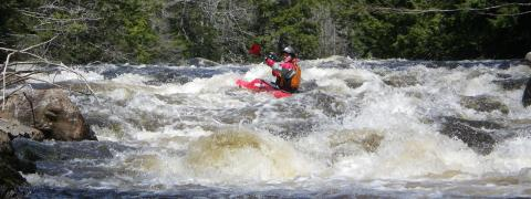 Canoe Kayak Nova Scotia whitewater paddling