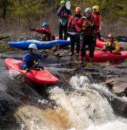 Canoe Kayak Nova Scotia whitewater paddling