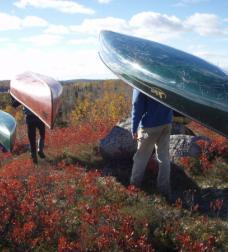 Chebucto Peninsula canoe portage