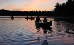 canoeing Nova Scotia