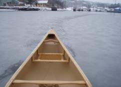 Northwest Arm Canoe in Winter