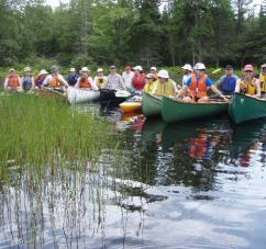 Canoeing Herbert River