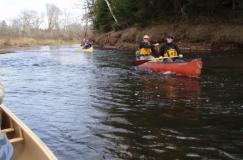 caneoing Nova Scotia Stewiacke River