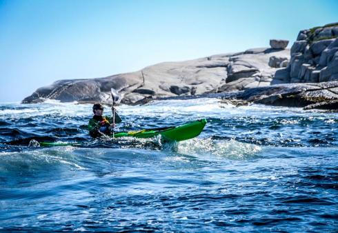 Kayak Surfing Nova Scotia