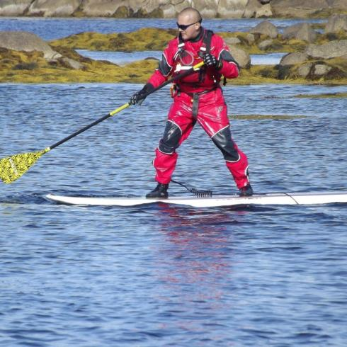 Thermal Protection cold water paddling