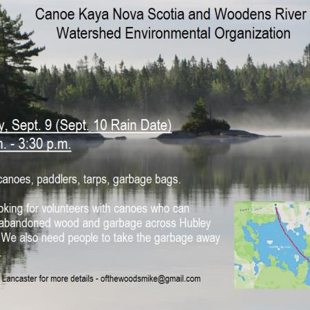 Paradise Cove Clean Up - Hubley Big Lake | Canoe Kayak Nova